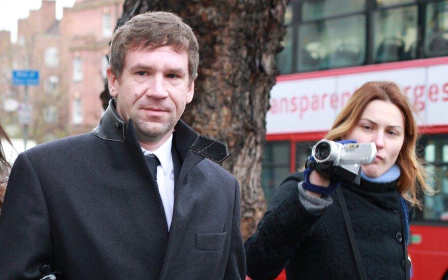 Vladimir Antonov in London