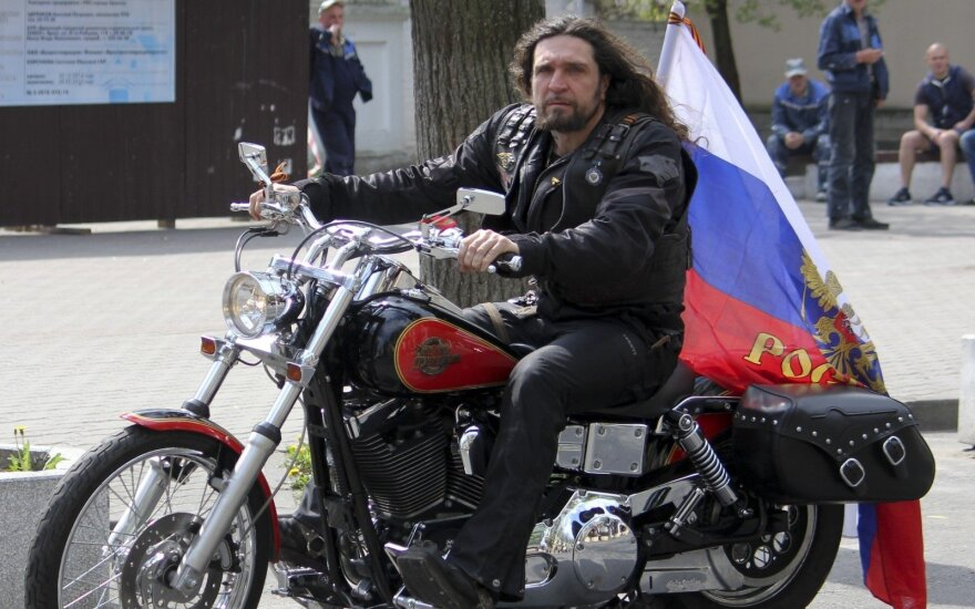 Russian pro-Putin bikers turned back at Lithuania-Belarus border