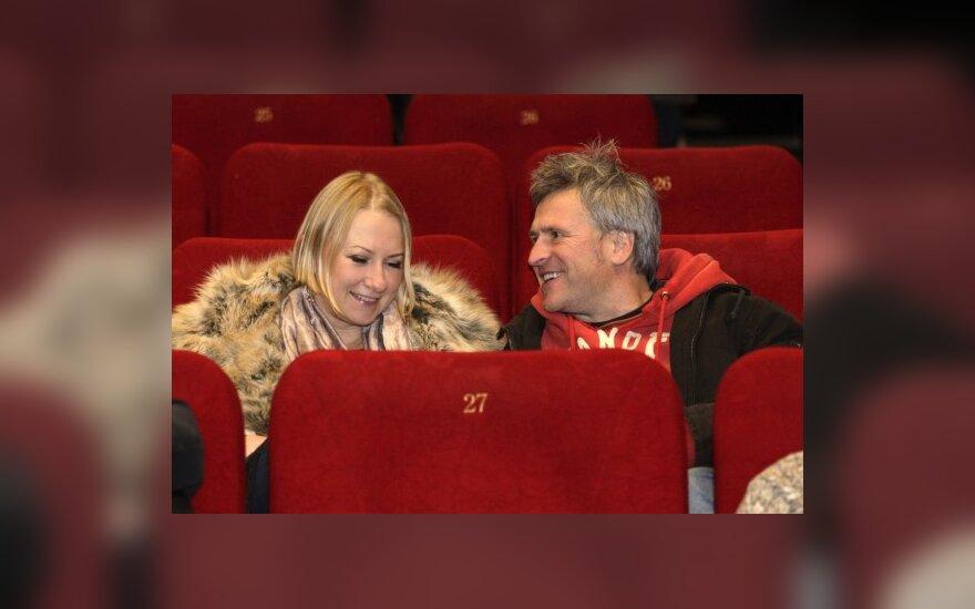 Julija Žilėnienė ir Stasys Baltakis