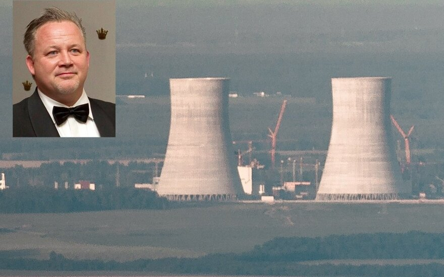 Kentas Harstedtas ir Astravo elektrinės statybos