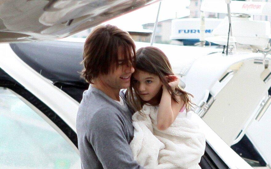 Tom Cruise ir dukra Suri