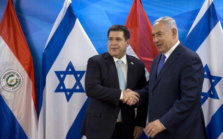 Horacio Cartesas, Benjaminas Netanyahu