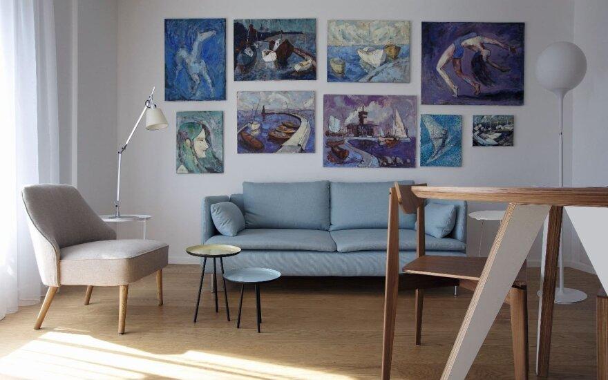 Dizainerės M. Juknienės sukurtas interjeras