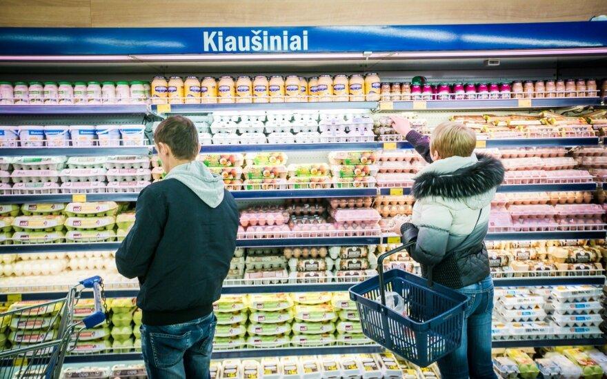 Kiaušinių paieška įsibėgėja: didžiausioje parduotuvėje nerado norimo produkto