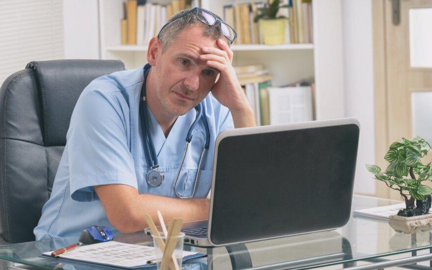Gydytojas nevynioja į vatą: viešai kalbama apie sąlygų gerinimą, tačiau tai tik skambūs žodžiai