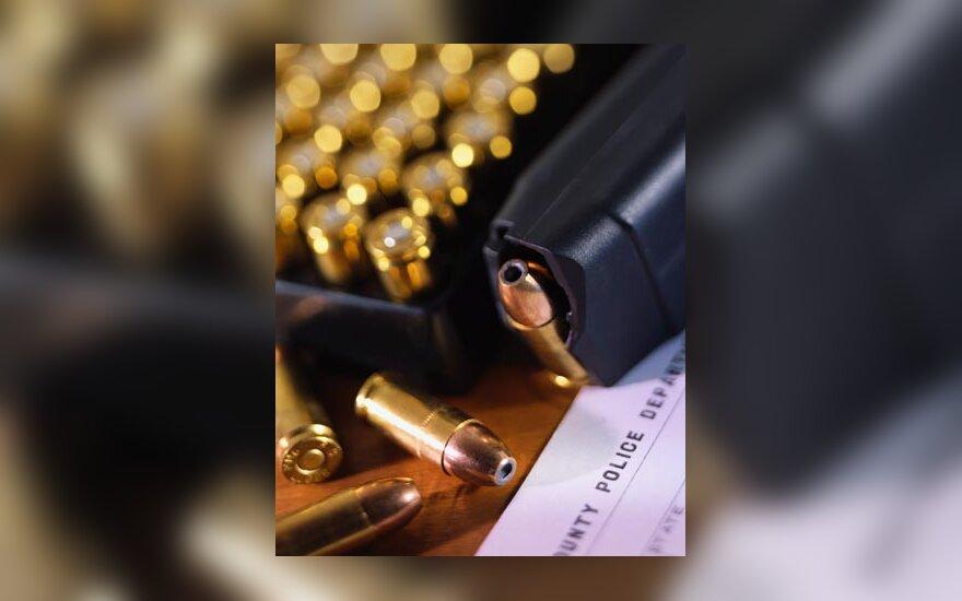 Pistoletas, kulkos, ginklas