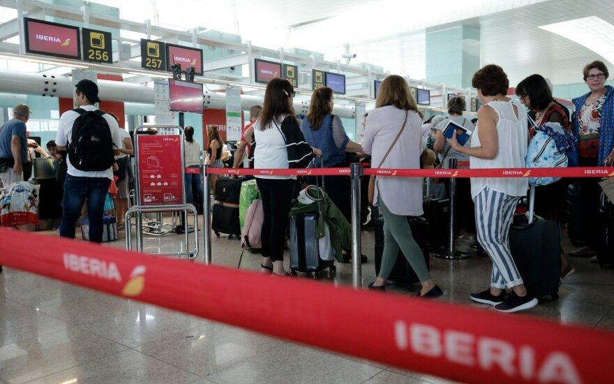 """Ispanijos oro linijos """"Iberia"""""""