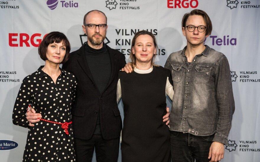 Airida Gintautaitė, Sigitas Šidlauskas, Eglė Mikulionytė ir Mantas Jančiauskas