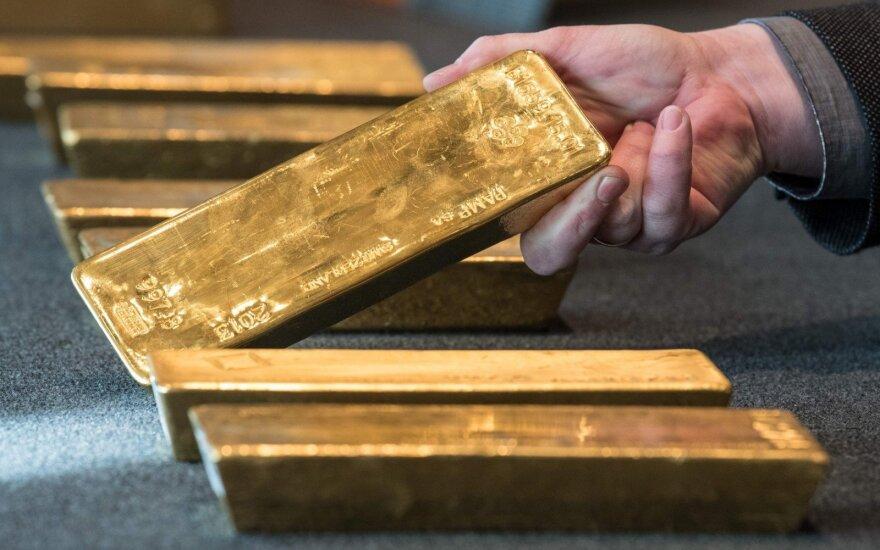 Aukso atsargos