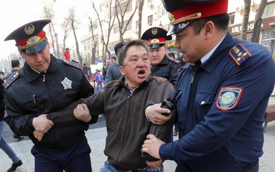 Protestai Kazachstane