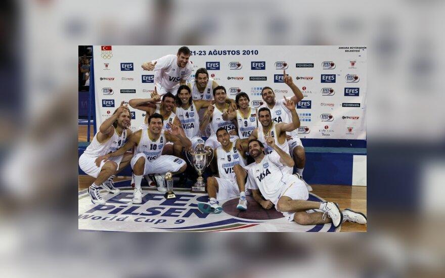 Argentinos vyrų krepšinio rinktinė