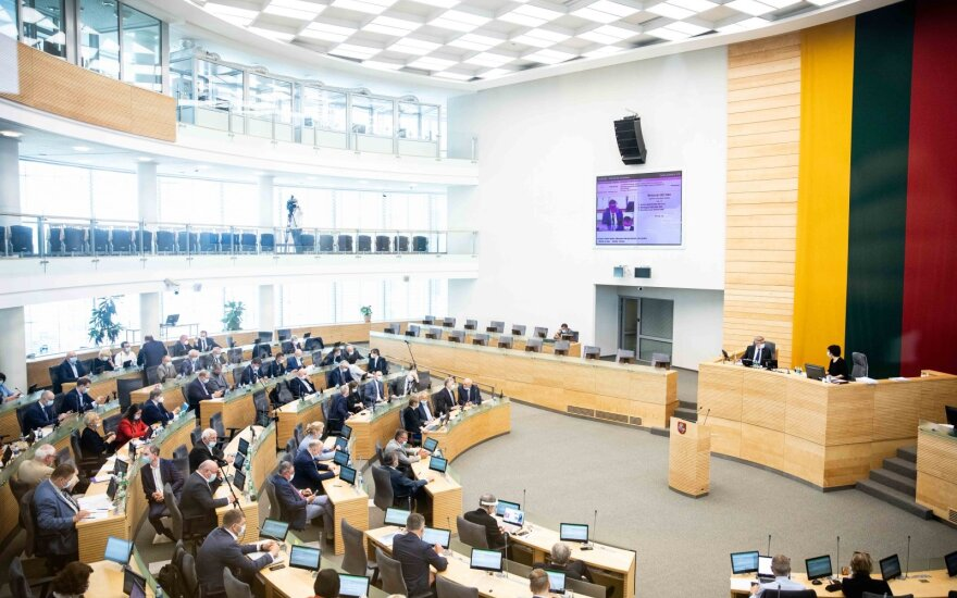 Seimas adopted a resolution on EU solidarity during the COVID-19 pandemic