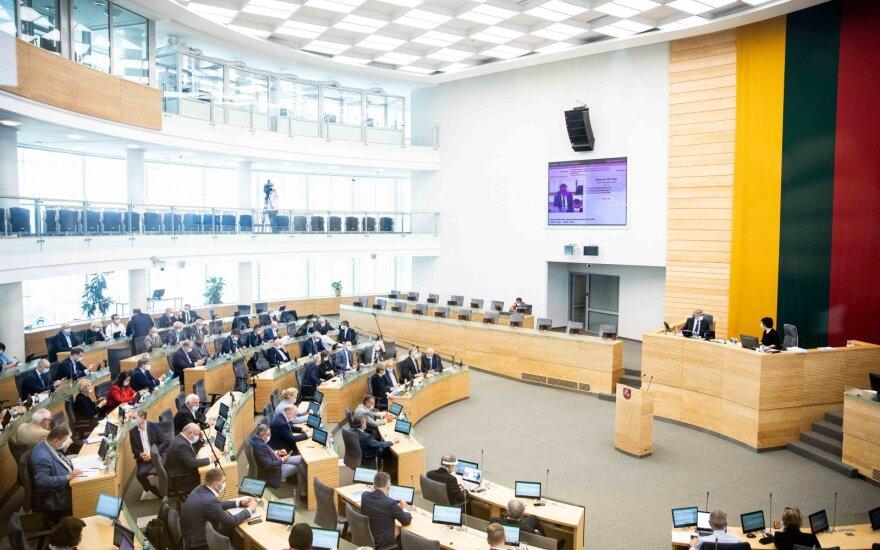 Seimas sudarė sąlygas Lietuvai dalyvauti Europos prokuratūros veikloje