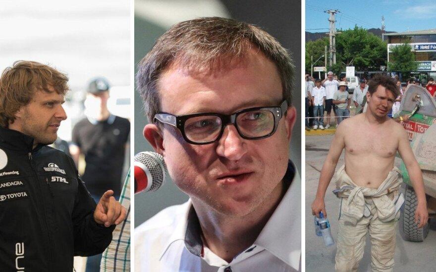 Benediktas Vanagas, Saulius Jurgelėnas, Antanas Juknevičius