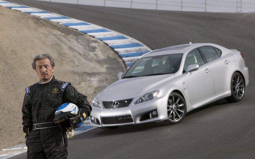 Yukihiko Yaguchi ir Lexus IS F