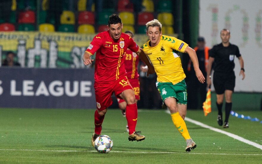 Liekame be taškų: rezultatą išlyginę lietuviai neapsigynė paskutinę mačo minutę