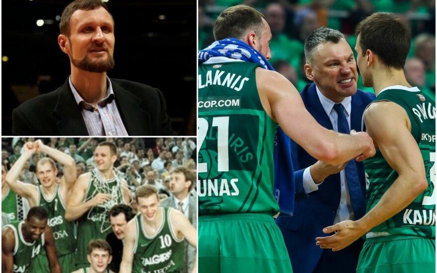 """Jiri Zidekas lygina 1999 ir 2018 metų """"Žalgirį"""""""