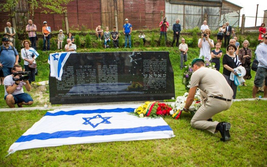 Po nueito žydų mirties kelio – emocingas prašymas Lietuvai