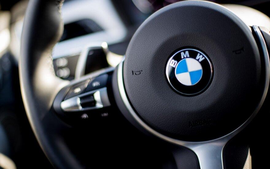 JAV vairuotojai padavė kolektyvinį ieškinį prieš BMW