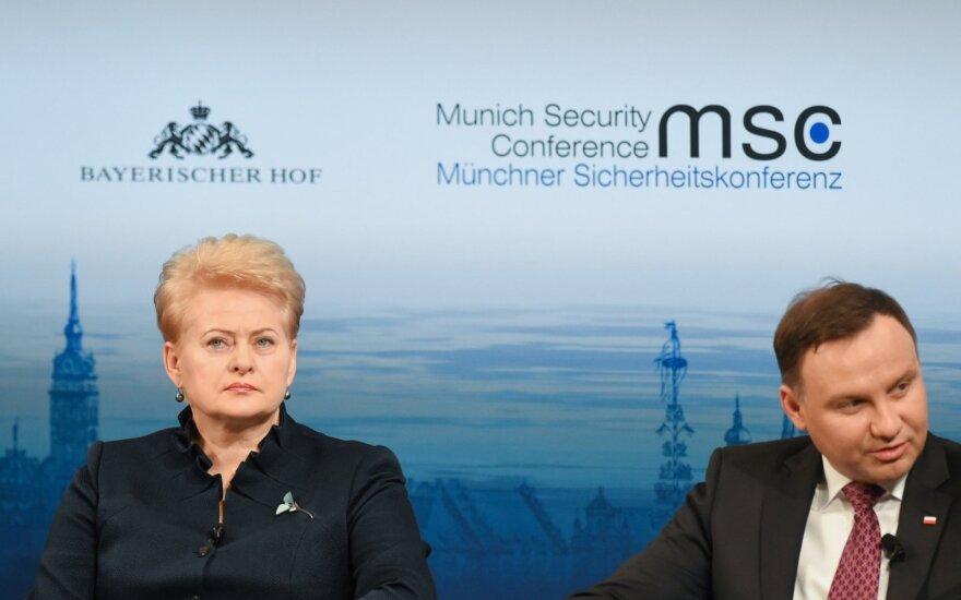 President Dalia Grybauskaitė at Munich Security Conference