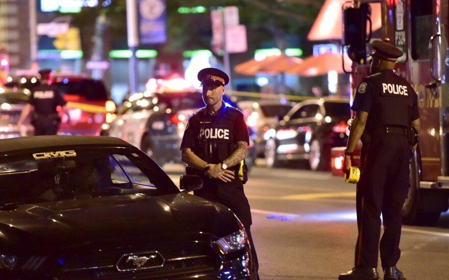 Per šaudynes Toronte žuvo vienas žmogus, du sužeisti