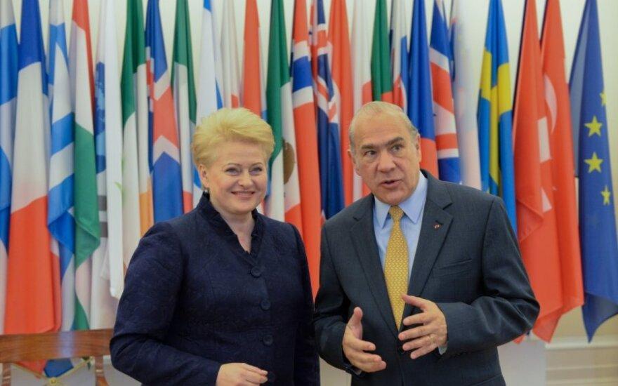 Lietuva atsakingai ruošiasi narystei EBPO // Roberto Dačkaus nuotr.