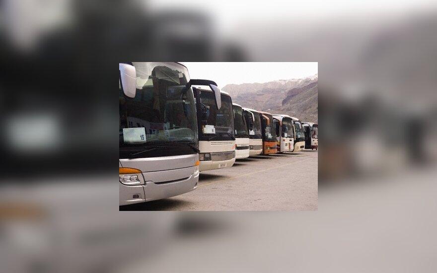Keliaujantieji rinkosi autobusus
