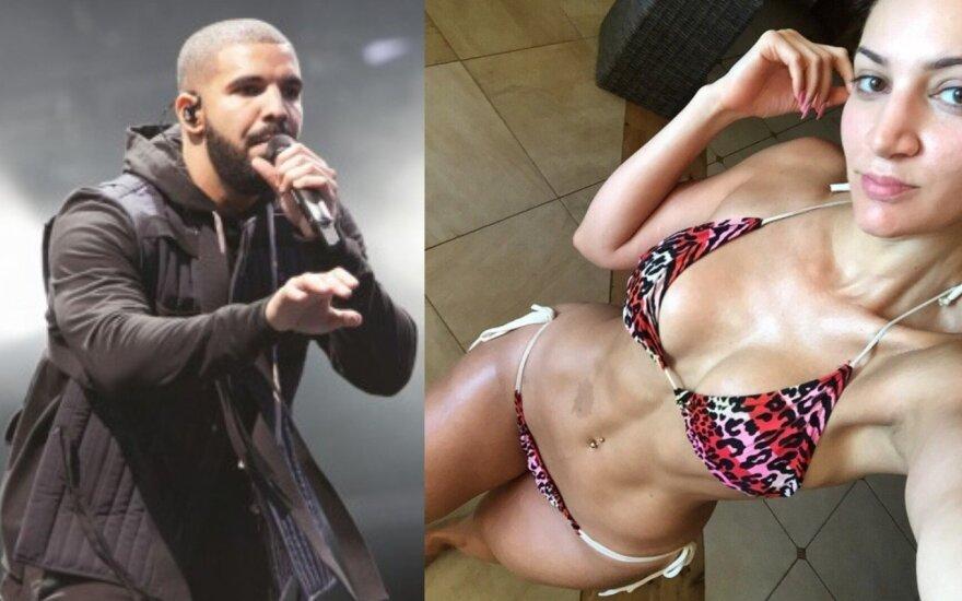 Drake'as ir jo tariamo vaiko motina