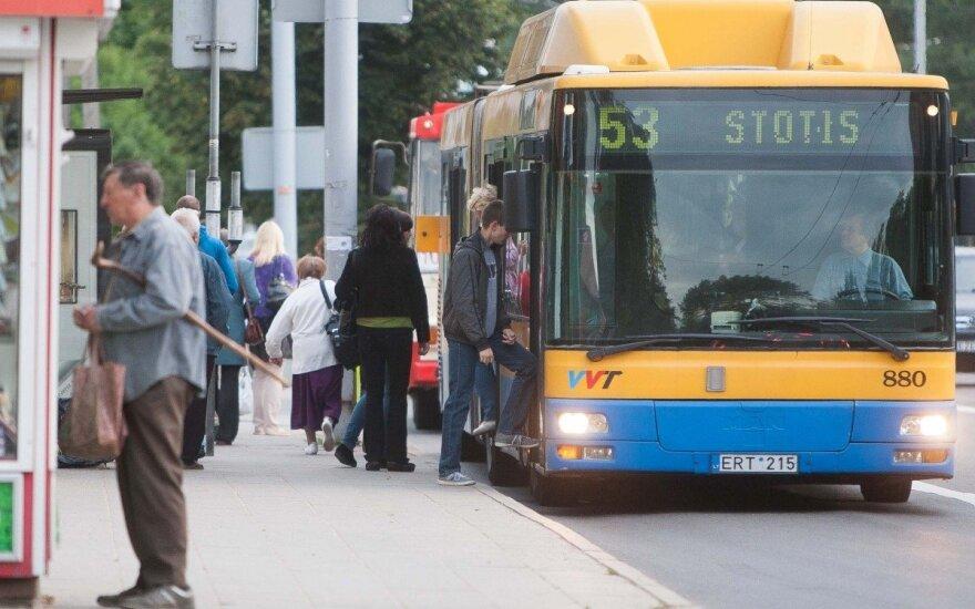 Per šventes Vilniuje nuspręsta pakeisti viešojo transporto darbą