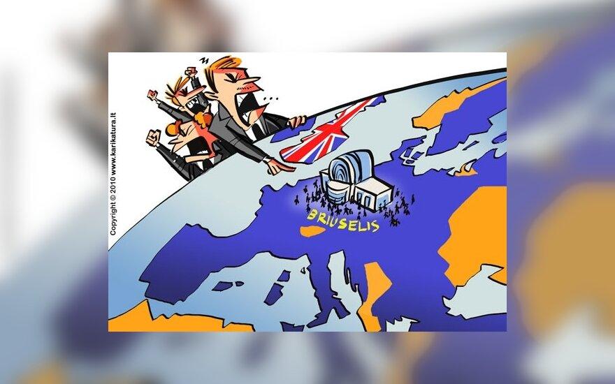 Dauguma britų nepritaria narystei ES