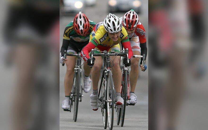 I.Čilvinaitė dviratininkių lenktynėse Prancūzijoje tebėra vienuolikta