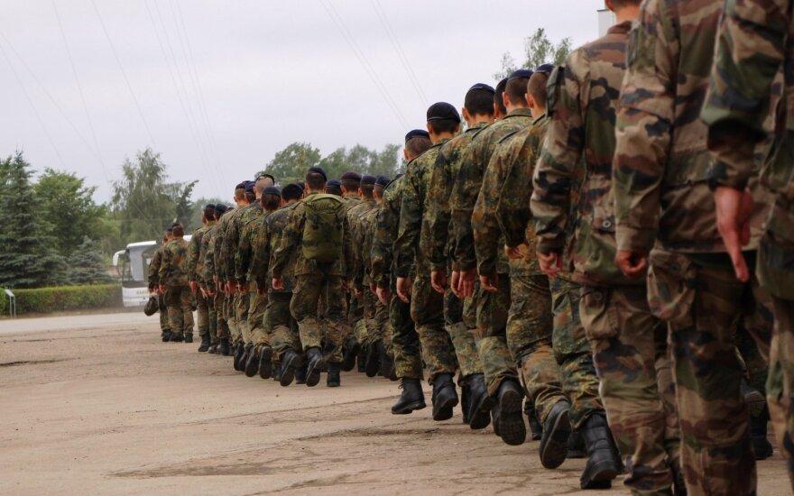 Švenčionių rajone baigėsi karių pratybos