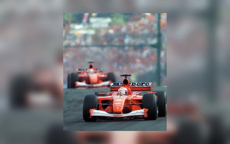 "Abu ""Ferrari"" bolidai"
