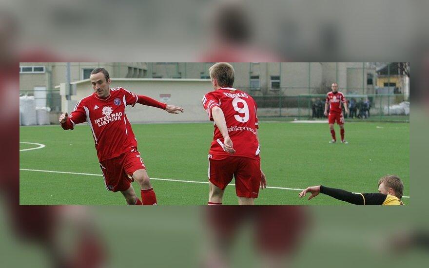 """""""Ekrano"""" futbolininkai"""