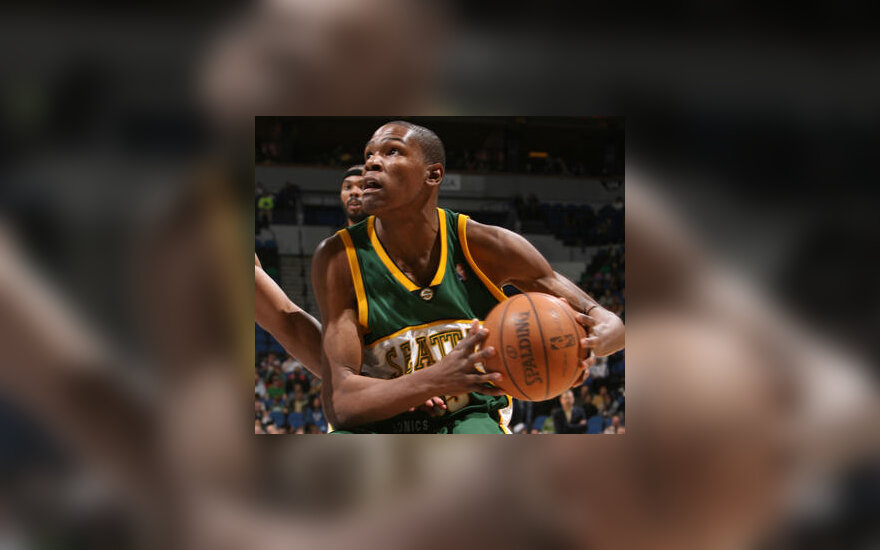 """Kevin Durant (""""Seattle SuperSonics"""")"""
