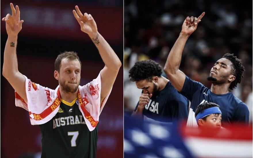 Kas tęs kovą dėl medalių: intriguojantis JAV ir Prancūzijos mūšis bei čekų iššūkis australams