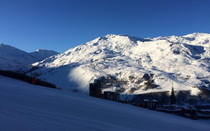 Neįtikėtinas užsidegimas: per parą įveikė septynias Alpių viršukalnes
