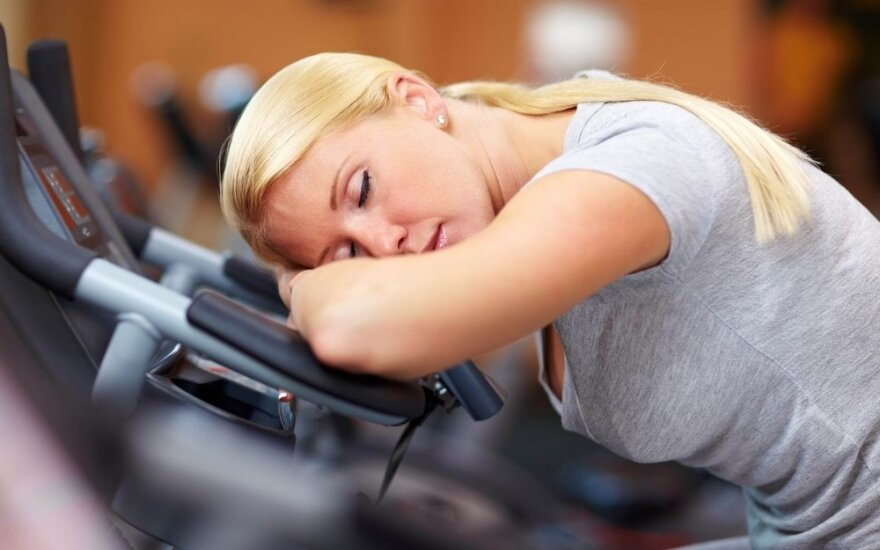 Peršalimas ir sportas – suderinama?