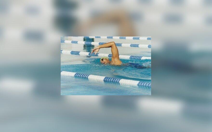 Lietuvos rekordu baigėsi šalies plaukimo žiemos čempionatas