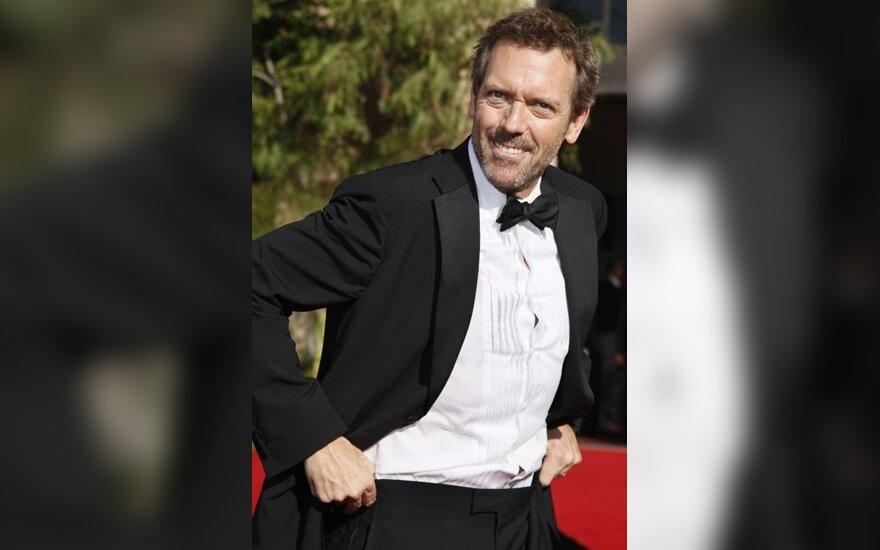 """Hughas Laurie iš serialo """"Daktaras Hausas"""""""