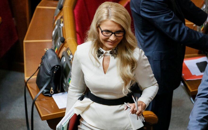 Tymošenko ketina dalyvauti Ukrainos prezidento rinkimuose
