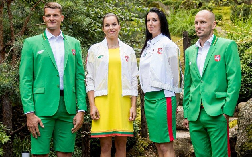 Pristatyta Lietuvos olimpinė apranga Tokijo žaidynėms