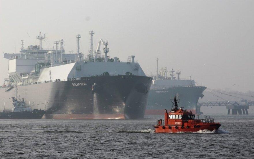 """Dujovežis """"Golar Seal"""", Suskystintųjų gamtinių dujų (SGD) laivas-terminalas """"Independence"""""""