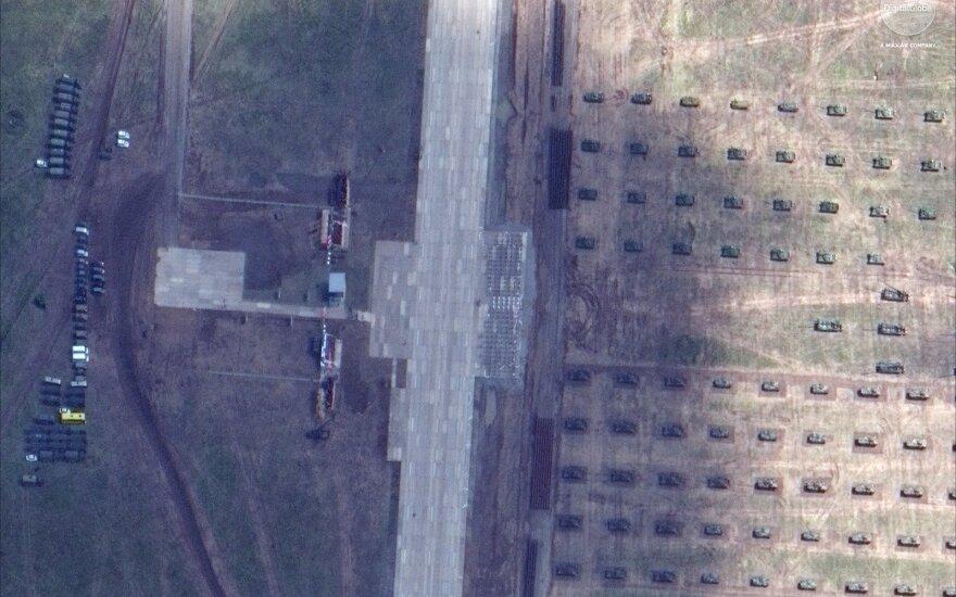 Rusijos pajėgos per Vostok pratybas