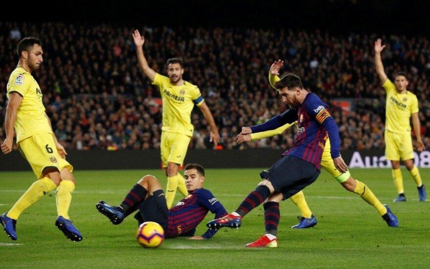 """""""Barcelona"""" iškovojo sausą pergalę ir grįžo į pirmą vietą"""