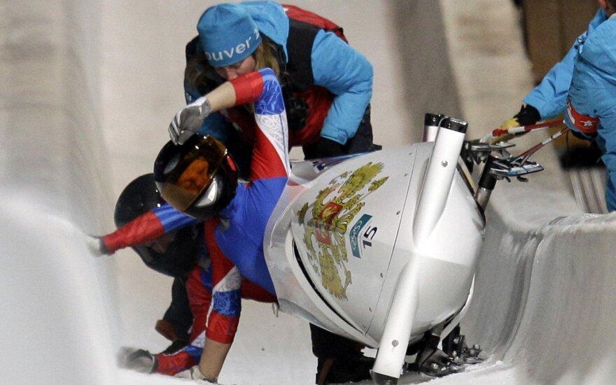 Rusijos bobslėjininkės