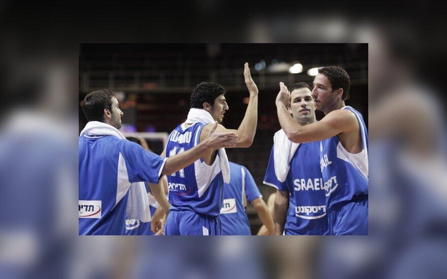 Izraelio rinktinės krepšininkai