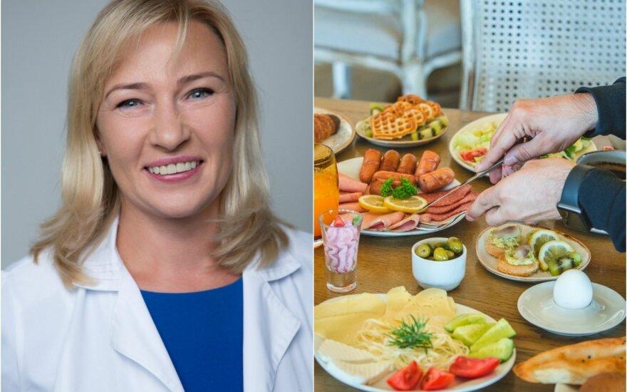8 svarbiausi gydytojos dietologės Editos Gavelienės patarimai lieknėjantiems