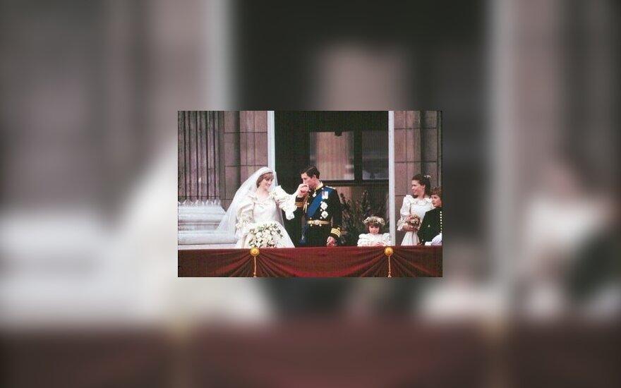 Princesės Dianos ir princo Charleso vestuvės 1981 metų liepos 29 dieną.