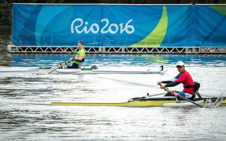 Teisėjai nusprendė, kad A. Navicko valtis Rio – per sunki, jis į A finalą nepateko